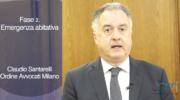 Fase 2. Emergenza abitativa. Claudio Santarelli, Coordinatore commissione servizi al cittadino