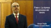 Fase2. Tribunale del Lavoro ha ripreso la sua attività. Giorgio Treglia, Coordinatore commissione diritto del lavoro
