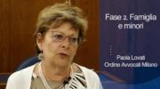 Fase 2. Paola Lovati, Coordinatrice Commissione persona, famiglie e minori